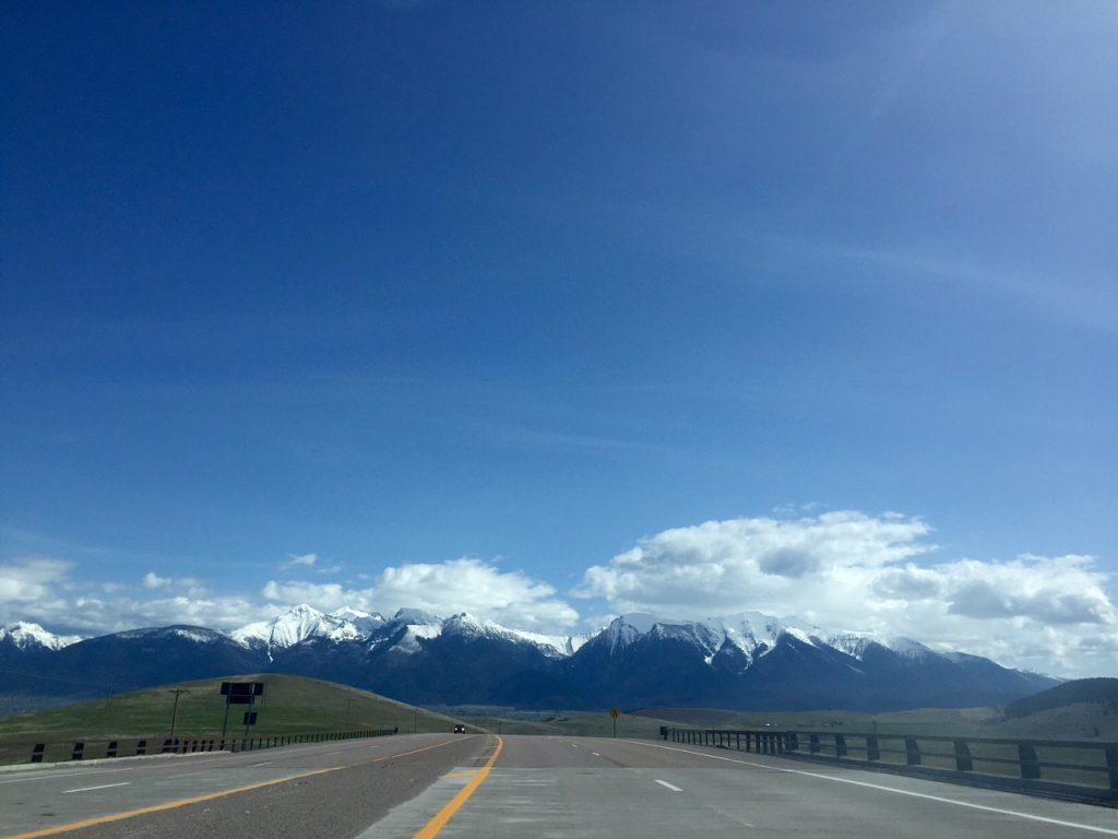 Hello, Mission Mountains.