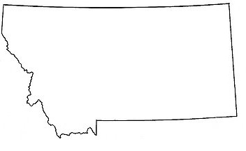 My favorite state shape? Hands down, Montana.