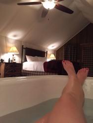 I'm a sucker for a soaking tub.