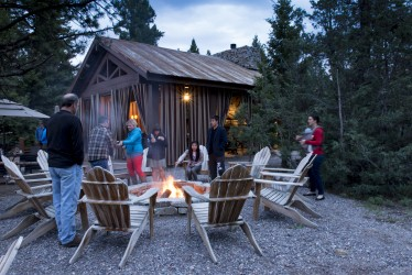 Each night at Cliffside Camp, all of the guests would gather around the campfire to make s'mores. And I loved it.