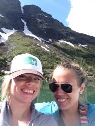 Kristin and I in Glacier National Park.