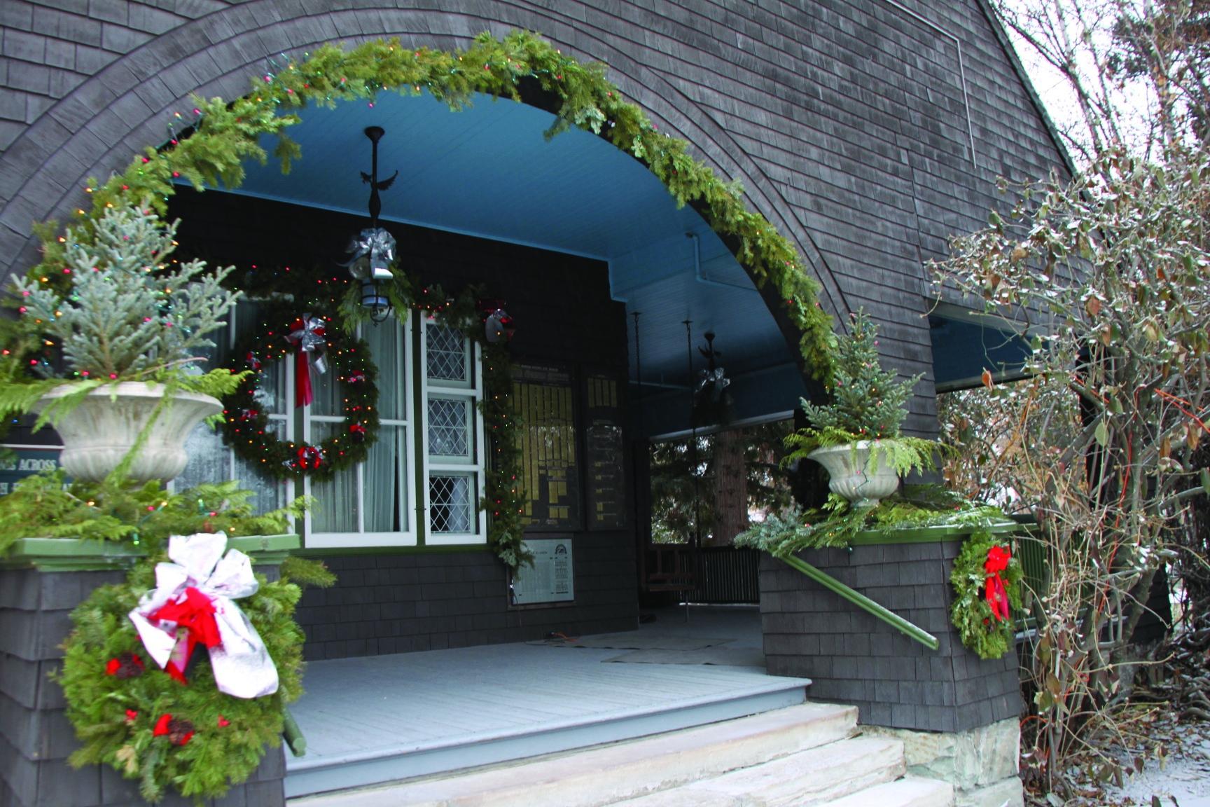 Christmas at the Conrad.