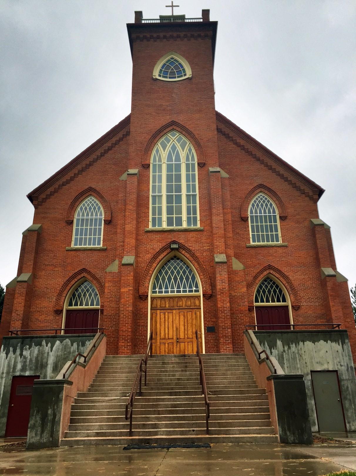 The St. Ignatius Mission.