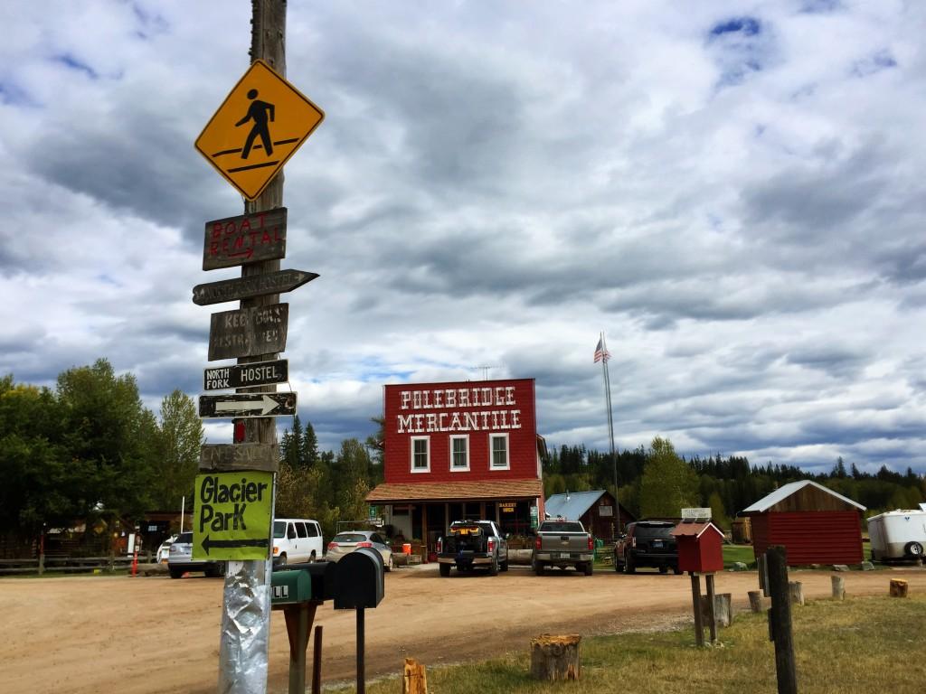 "Polebridge, Montana's most ""off-the-grid"" community."