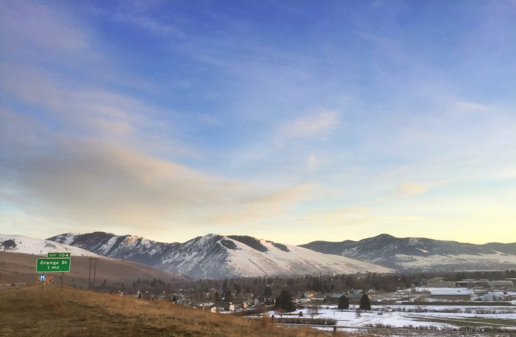 One of my loves: Missoula, Montana.