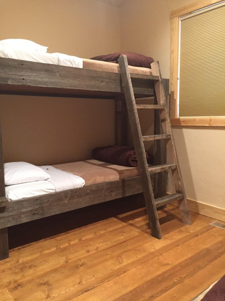 One of the bunk rooms.