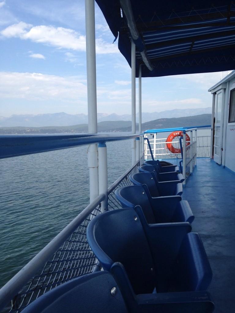 Cruising on the Far West.