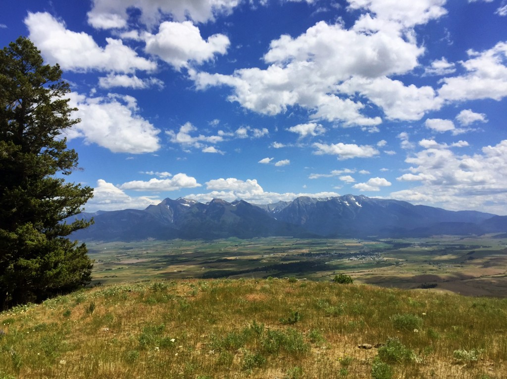 A spring view from Montana's National Bison Range.