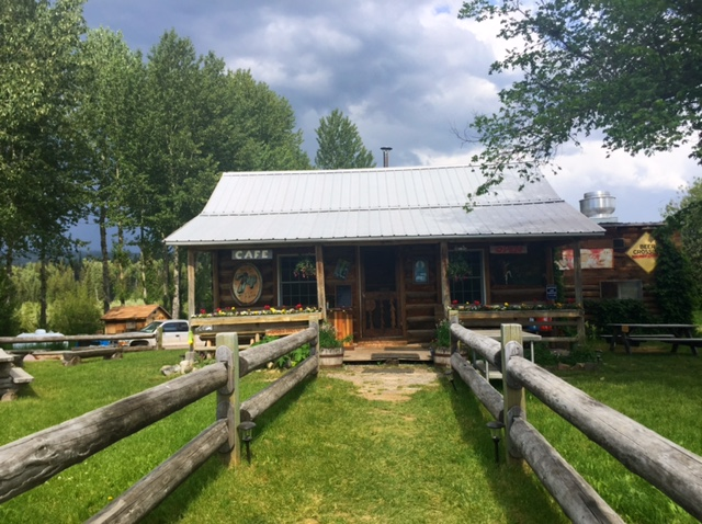 The Northern Lights Saloon, owned by another sweet gal named Heather, is a great place to stop and get a cold beverage or have dinner.