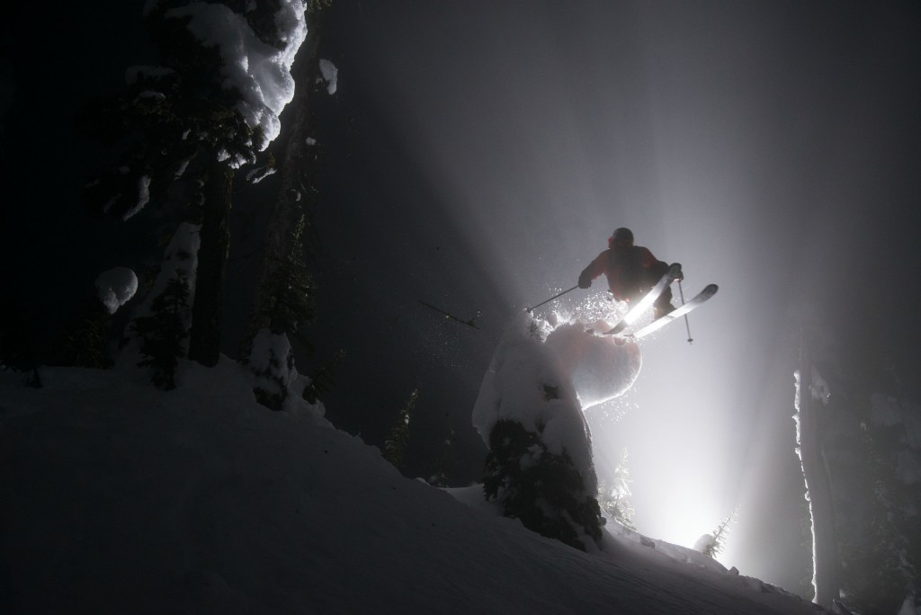 Night skiing at Whitefish Mountain Resort. Photo: WME