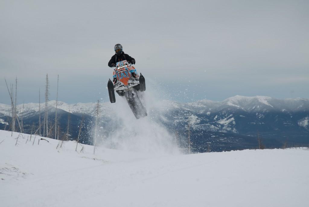 Keith Curtis catching air near Seeley Lake. Photo: WME