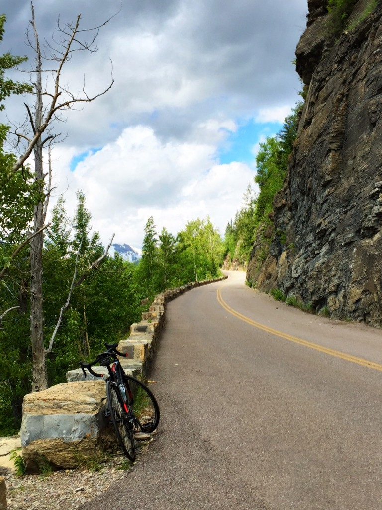 One of my favorite memories of the entire year: biking in Glacier National Park.