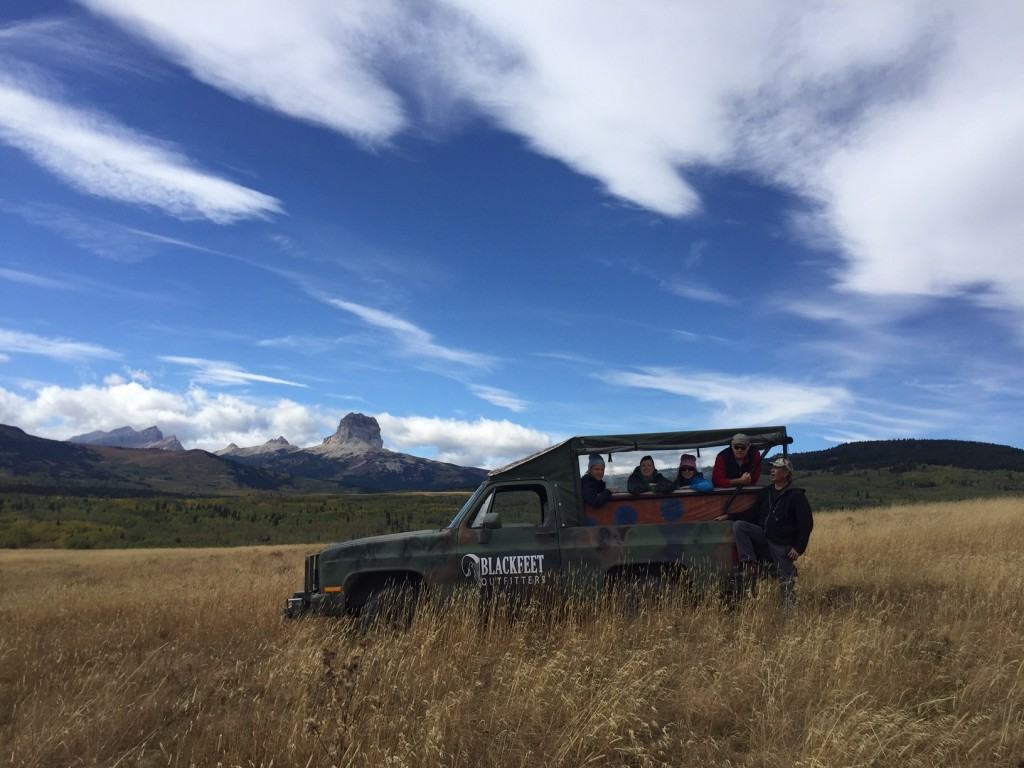 A guided tour on the Blackfeet Nation with Blackfeet Outfitters.