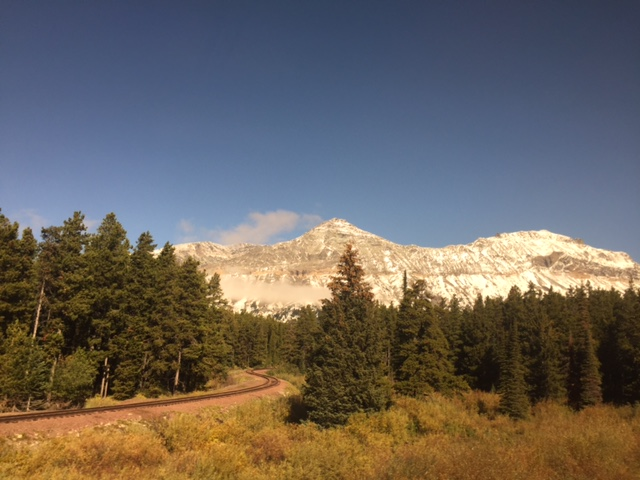Coming down off Marias Pass, you're rewarded with this view.