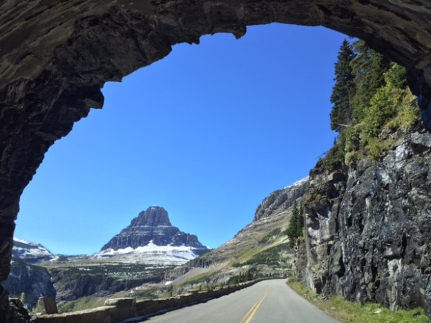 Fall in Montana: Driving Glacier National Park's Going-to-the-Sun Road