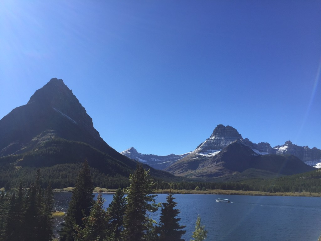 Two Guns under Mount Grinnell.