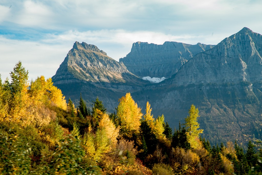 A glimpse at Glacier National Park.