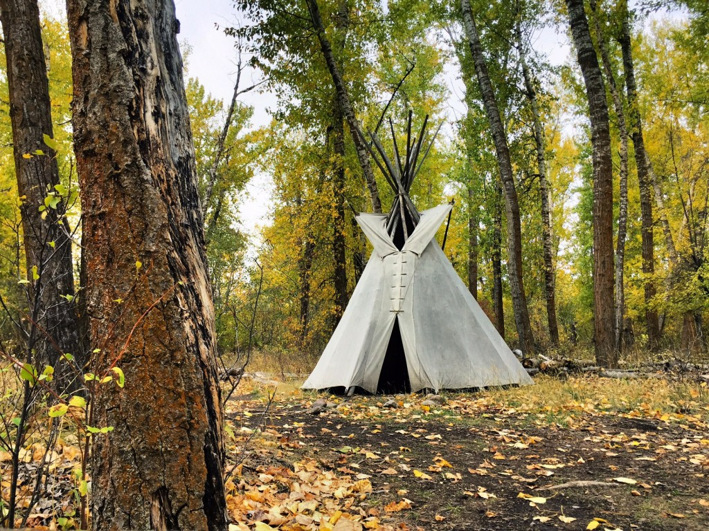 Prior to being used by the Lewis & Clark Expedition, this site of Travelers' Rest was used by Montana's First Nations.