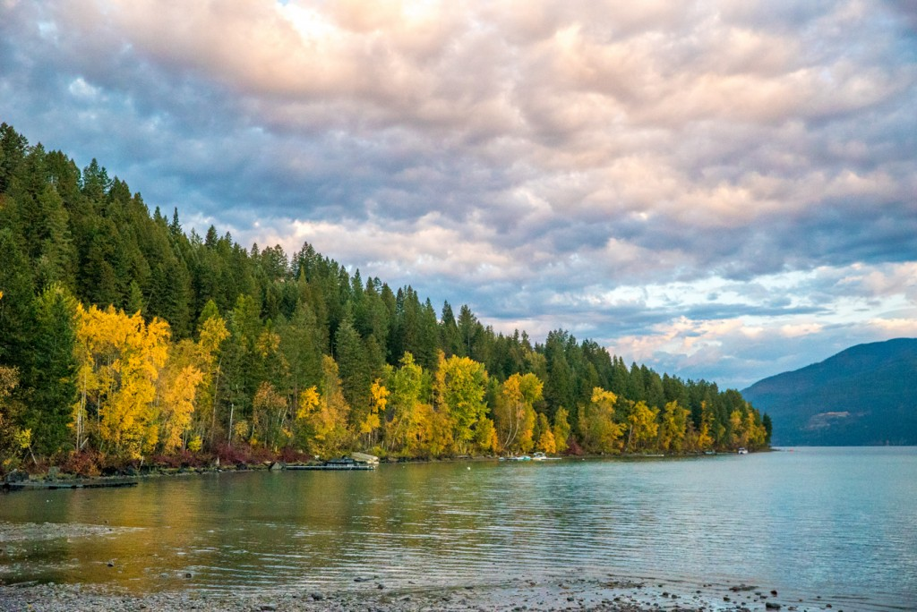 Fall at Whitefish Lake.