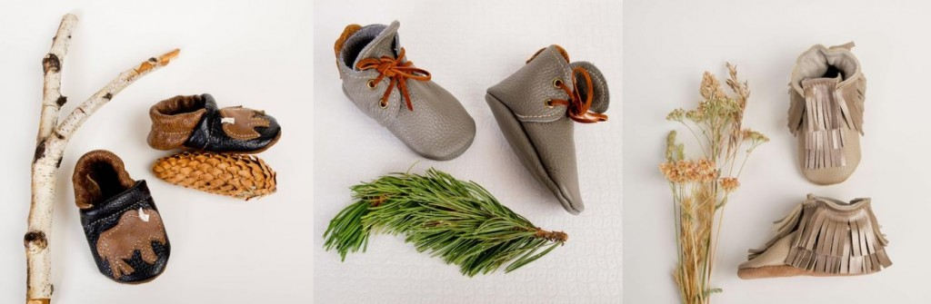 Bison booties, gray desert boots and fringe booties. Photo: Starry Knight Design