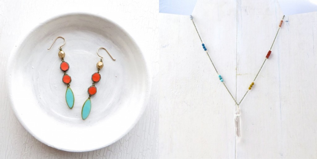 Two of my favorite pieces from Bellwether Jewelry. Photo: Bellwether Jewerly