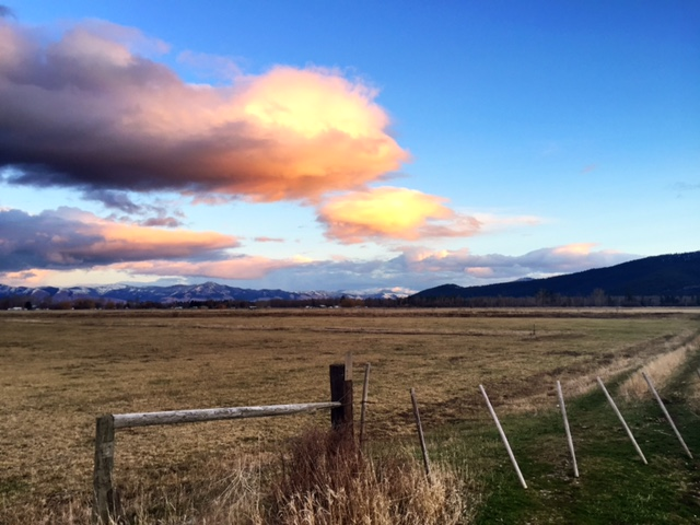 After work, I headed out west of Missoula to watch the soft evening light fall over the valley.