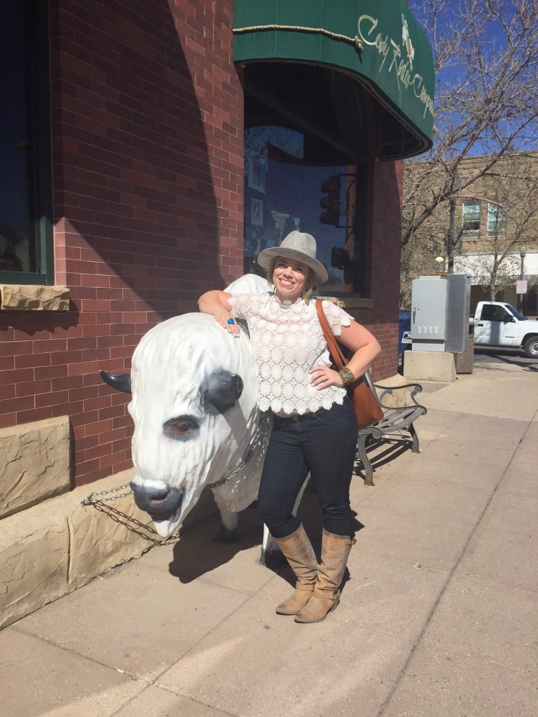 My traveling partner and I fell in love with downtown Cody, Wyoming.