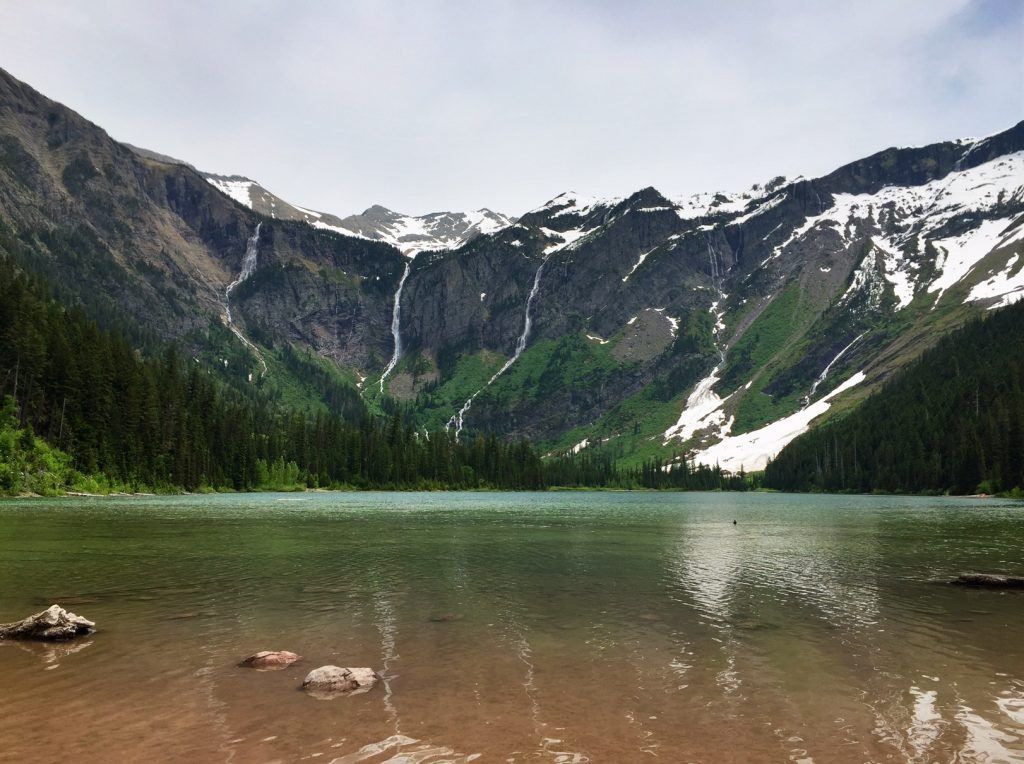 Day Hike In Glacier National Park Avalanche Lake