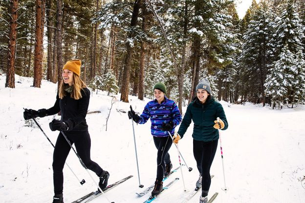 A Nordic Adventure Along the Blackfoot River Scenic Corridor