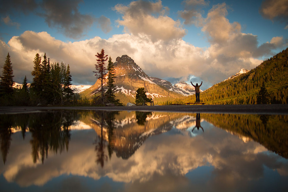 07aad211bdd9a Two Medicine Lake reflects a visitor s appreciation of the grandeur of Glacier  National Park. Photo  Brian Powers