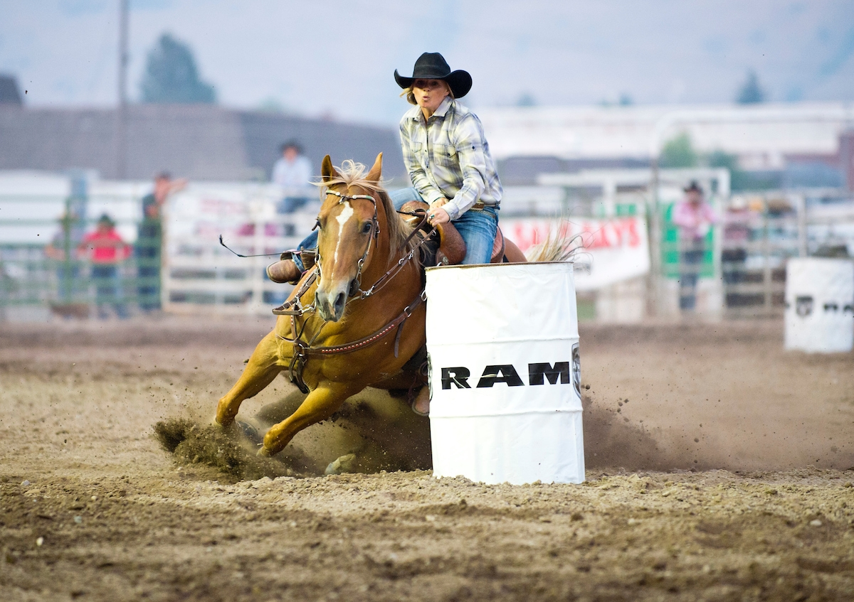 Small Town Rodeos in Western Montana