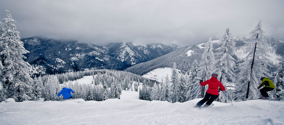 7 Places to Downhill Ski in Western Montana