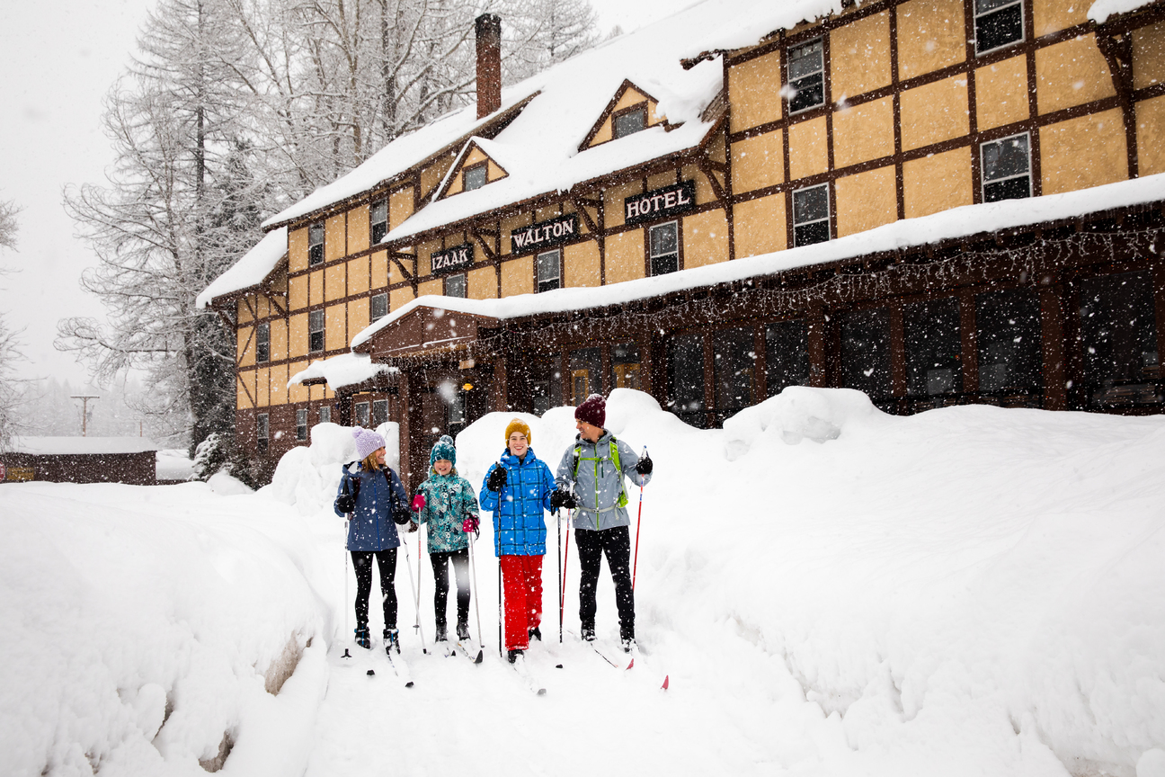 Gear Up for Winter Family Fun in Glacier Country