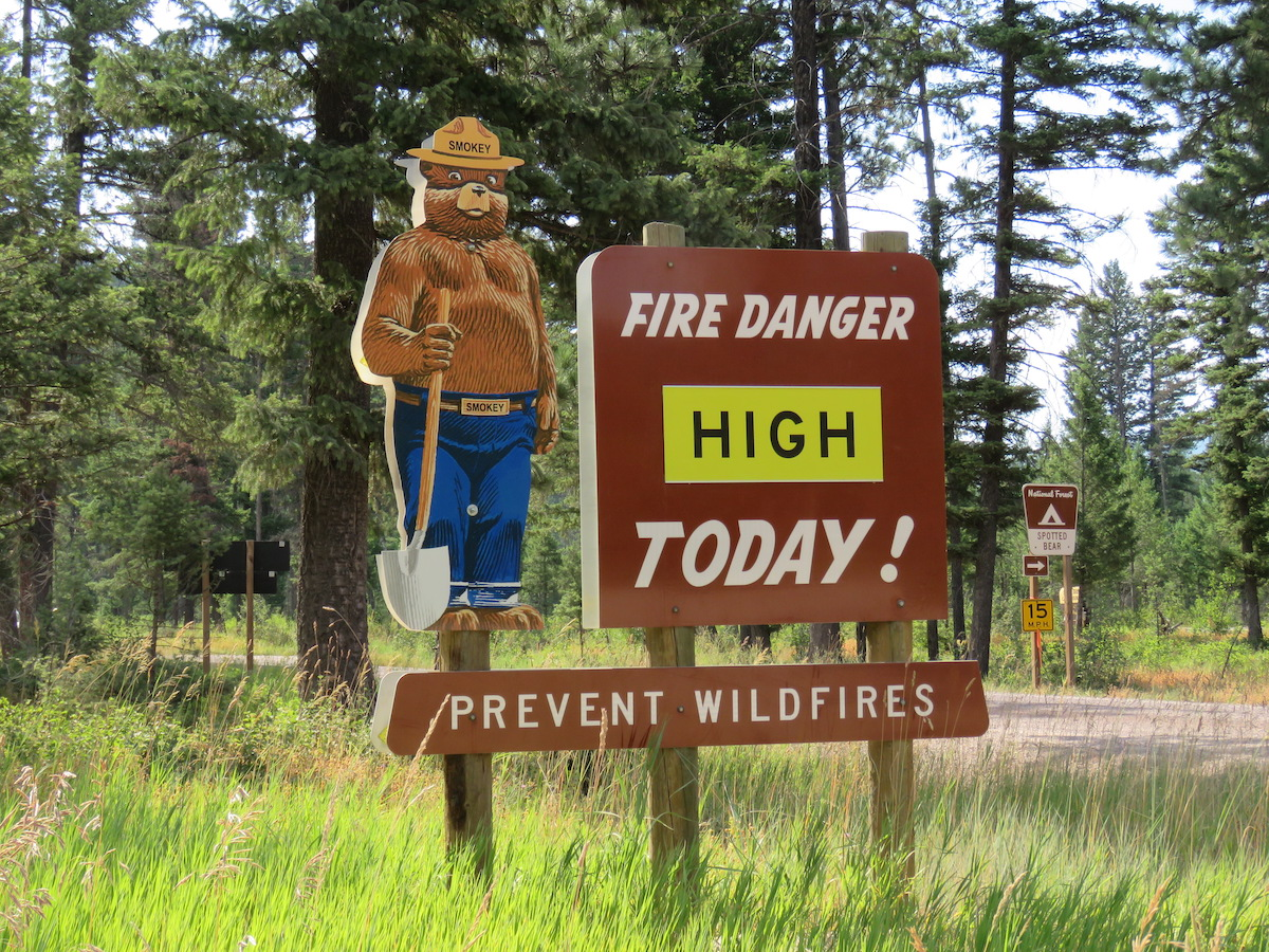 Attention: Fire Restrictions in Western Montana